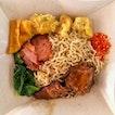 Signature Sarawak Kuching Kolo Mee Set Meal ($4)
