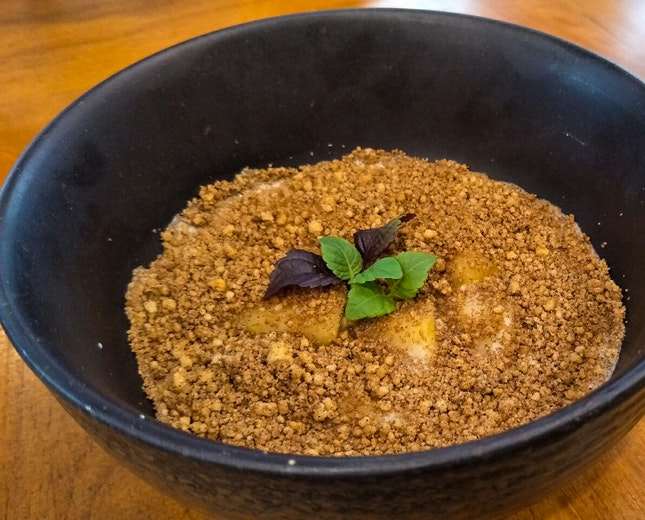 5-spice Apple Crumble ($14)