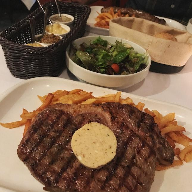 steak frites date night