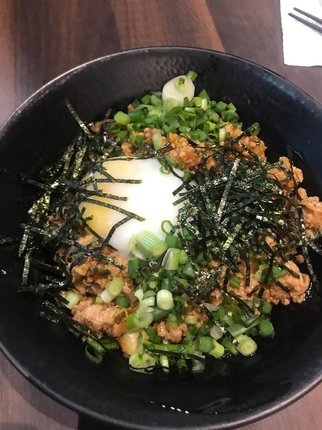 dan dan rice bowl $8.5