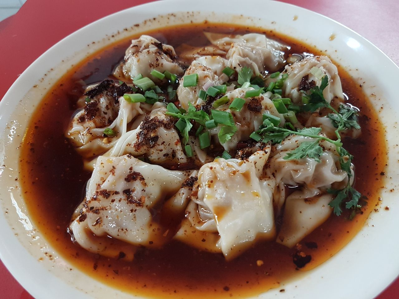 Sichuan Wanton!! Awesome!!!!!!