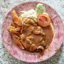 Mushroom Chicken Chop