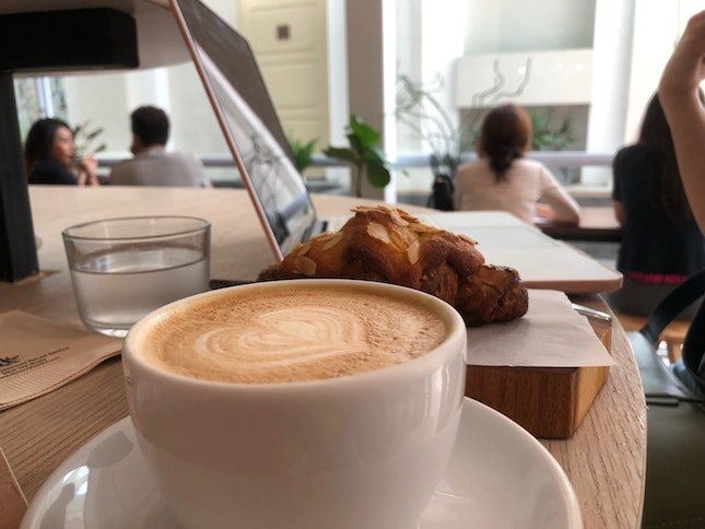 Grab A Latte And Croissant!