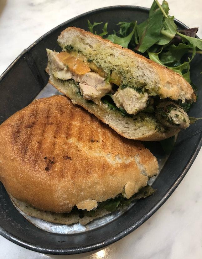 Chicken Tikka Sandwich ($13.90 before gst & service charge)