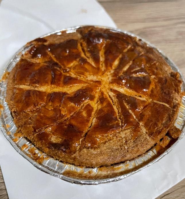 Dark Chocolate Ganache Breton Pie $9
