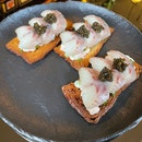 Smoked Eel Toast $18/piece