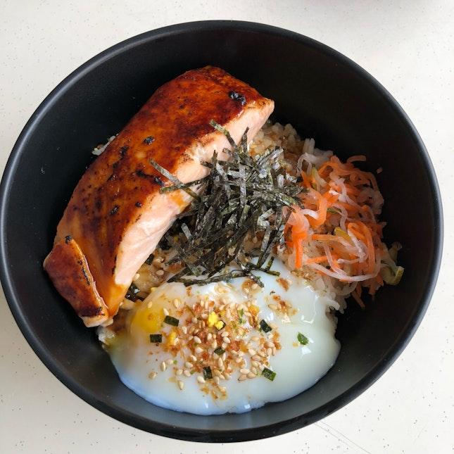 Miso Glazed Salmon Don [$9.90]