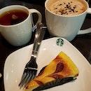weekend date with esl & xb + é lil' 0ne #tb Earl Grey Tea|Salted Caramel M0cha Crumble|Raspberry Cheesecake 🥛☕️🍰😍 .