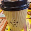 when é caffeine craves kick in 😁 ☕☕☕☕☕ #onemancoffee  #flatwhite  #caffeineindulgence #cafehopping  #cafehoppingsg  #cafesg  #sgcafe  #sgig  #igsg  #whati8today  #iweeklyfood #openricesg  #welovecleo  #burpple  #ginpala  #eatbooksg  #sgmakandiary  #swweats