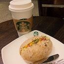 My Awes0me & Wh0les0me Breakfast 😋😋 #RussetEggMayoWholegrainSandwich#SkinnyLatte#Starbucks#StarbucksSG#starbuckspromo#Breakfast#happymornings #cafehopping#cafehoppingsg#cafesg#sgcafe #sgfood#sgfoodie#sgfoodies#igsg#foodporn#foodstagram#whati8today#iweeklyfood#8dayseatout#openricesg#welovecleo#burpple#ginpala#eatbooksg#sgmakandiary#izumifoodstagram