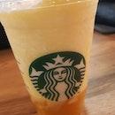 Mango Mango Frappuccino®- refreshingly👍 #starbuckslover i had ☕️ earlier already 😜 .