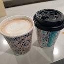 Spiced Chai Latte x Dirty Chai as rec0 by a c0lleague!