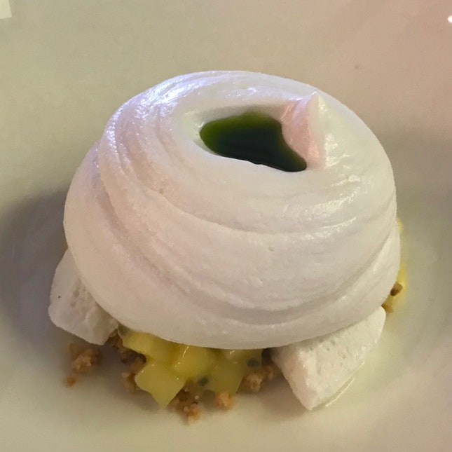 Coconut Cream, Mango, Passionfruit