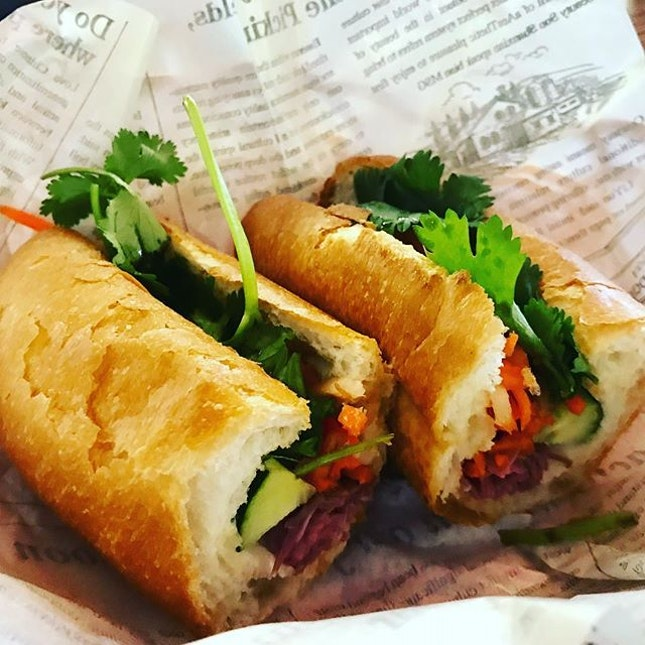 Roast beef Banh Mi was simple comfort food, made really yummy with toasted bread