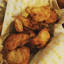 Chimaek made healthier with a oven roasted chicken which still retained the crunchy texture of its deep fried equivalent.