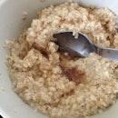 #organic baby oats + #honey #breakfast