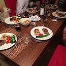 Steak for 6 :):) 😋😋😋 #dinner #homemade #homecooked