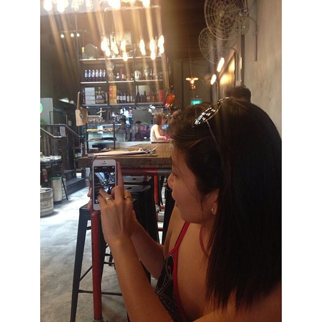 Snapper being snapped #myawesomecafe #singapore #sgcafe #cafe #cbd #telokayer