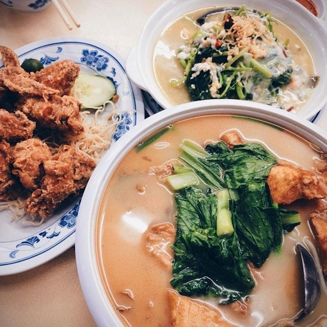 Throwback Dinner with @ee_justin, @imshaun & @harroldchr.