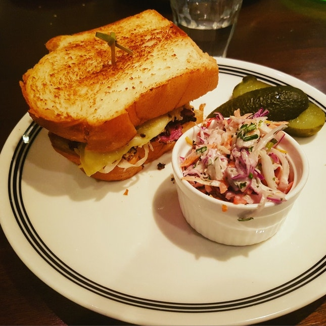 Grilled Reuben With Pastrami