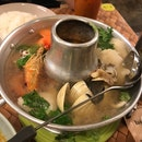 Tom Yum Seafood Clear Soup