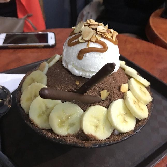 Choco Banana Bingsu