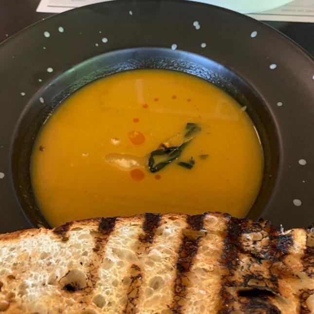 Spiced Butternut Pumpkin Soup