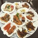 Today's haul at the world street food fair #burpple
