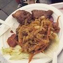 Tasty nonya dish of Vegas and seasoned pork #burpple