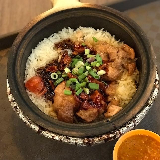 Claypot Chicken Rice - $5.50