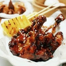 Aged Balsamic Chicken Wings [HKD 79].