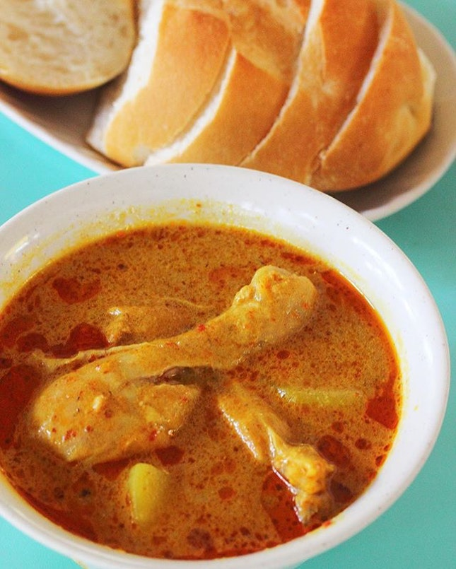 [Hai Nan Hometown Curry] - A favourite among the crowd is the Curry Chicken ($4.50/$6.50).