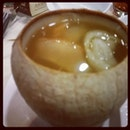 Shark's Fin Soup In A Coconut