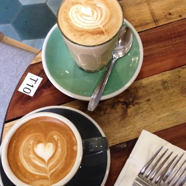 Cafe Hopping