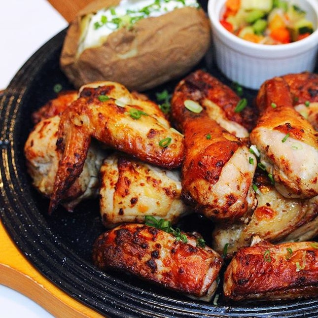[Chir Chir Fusion Chicken Factory] - My favourite at Chir Chir has to be Rosemary Chicken ($29.90).