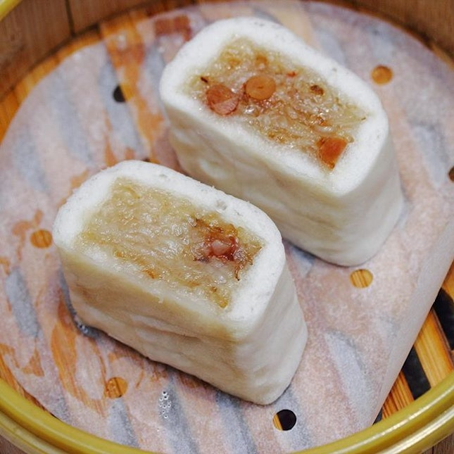[Paradise Teochew Restaurant] - A must try from the dim sum menu is the Steamed Glutinous Rice Roll in Teochew Style ($4.80 for 3pc).