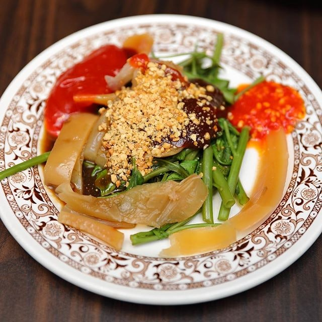 [White Rose Cafe] - A dish not commonly seen nowadays is the Cuttlefish Kang Kong.