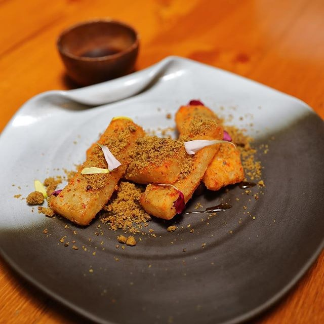[Birds Of A Feather] - My favourite dessert at Birds Of A Feather has been evolved to a new savoury version.