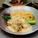 [Guan Dynasty] - Wanton mee with plump and crunchy shrimp wanton.