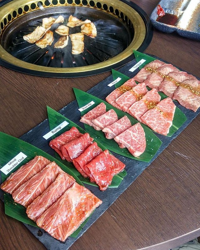 [The Gyu Bar] - Almost a year was spent sourcing for the finest bred of Black Wagyu cattle from Japan.