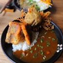 [Yuzutei] - Tempura Curry ($14).