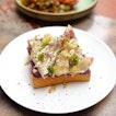 [Antoinette] - Kurobuta Ham & Cheese Toast ($14).