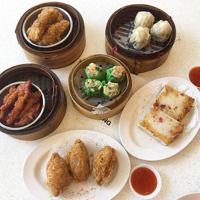 [Shi Wei Xian HongKong Tim Sum] - Nowadays it is quite hard to find handmade dim sum and that it is reasonable priced.