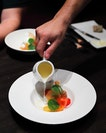 [LeVeL33] - A light and refreshing starter is the Tomato Consomme ($22) served chilled.