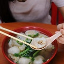 [Seow Choon Hua] - Foo Chow Mixed Soup ($6 - $10) which comes with an assortment of Foo Chow Fish Ball, Yen Pi, Dumpling and Fish Dumpling.