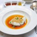 [Yan Ting] - I love the simplicity of the Steamed Chilean Cod Fillet with Minced Garlic, allowing the buttery cod fish to shine, complement by the superior soy sauce and minced garlic.