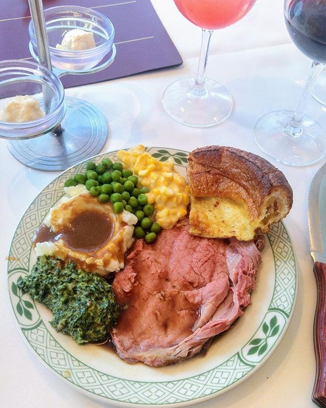 [Lawry's The Prime Rib] - This Valentine's Day, treat your partner to a lavish 6-course dinner at Lawry's which includes their authentic Signature Prime Rib of Beef.