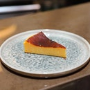"[TXA Pintxo Bar] - The Tarta de Queso ""LA VIÑA"" ($4.90) is a burnt cheesecake inspired from the popular La Vina in San Sebastian."