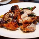 [Cook & Brew] - Orange-brined Roasted Whole Chicken for sharing.