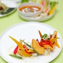 [COMO Cuisine] - A clean and delicious tasting dish is the Golden Beetroot ($20++).